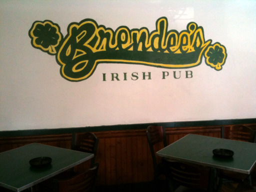 Brendees Irish Pub new logo